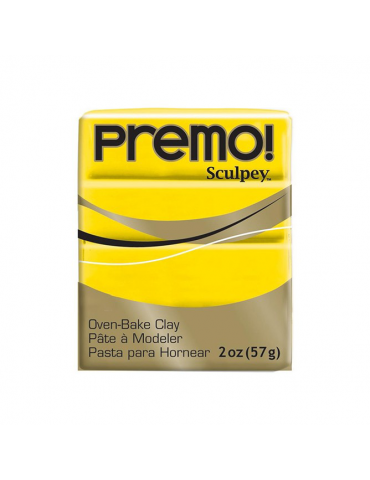 "Sculpey Premo ""ZINC YELLOW..."