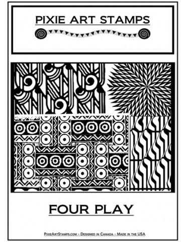 """Plaque de texture """"Four..."""