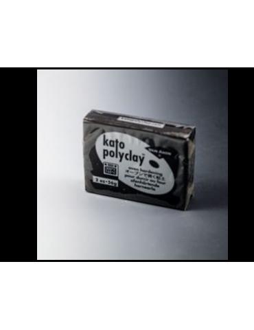 """Pâte Kato Polyclay 56g """"Noir"""""""