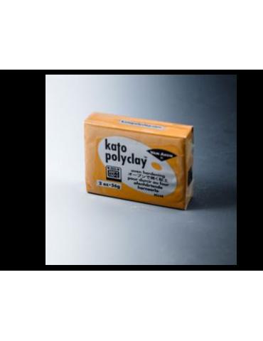 "Pâte Kato Polyclay 56g ""Or"""