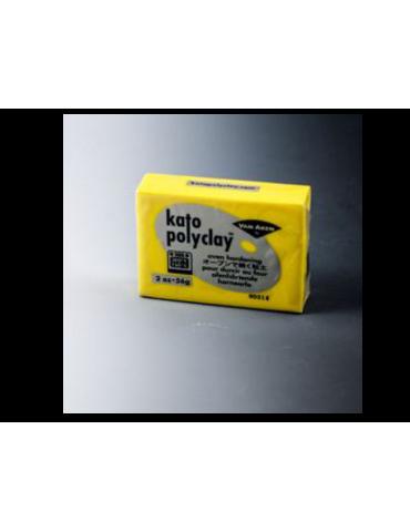 """Pâte Kato Polyclay 56g """"Jaune"""""""