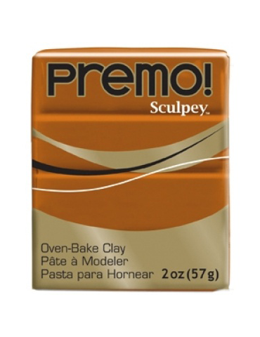 "Sculpey Premo  ""Raw  Sienna"""