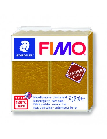 "Fimo Leather-Effect ""OCRE"""
