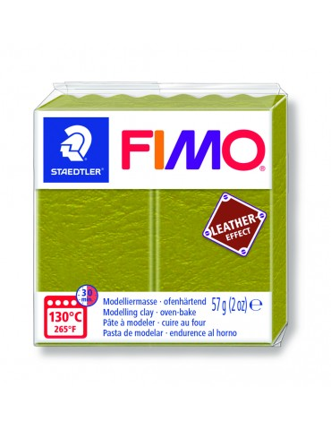 "Fimo Leather-Effect ""OLIVE"""