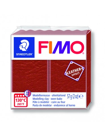 "Fimo Leather-Effect ""ROUILLE"""