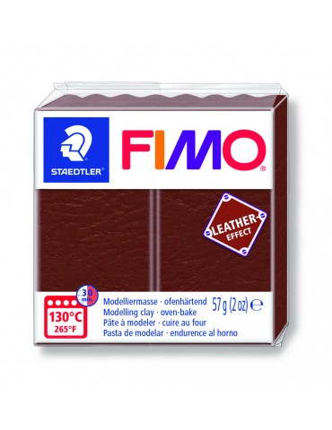 "Fimo Leather-Effect ""NOISETTE"""