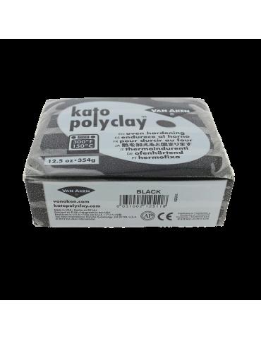 """Pâte Kato Polyclay 354g """"Noir"""""""