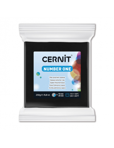 "Cernit ""One number ""Noir"" 250g"