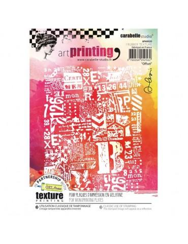 Texture Art printing...