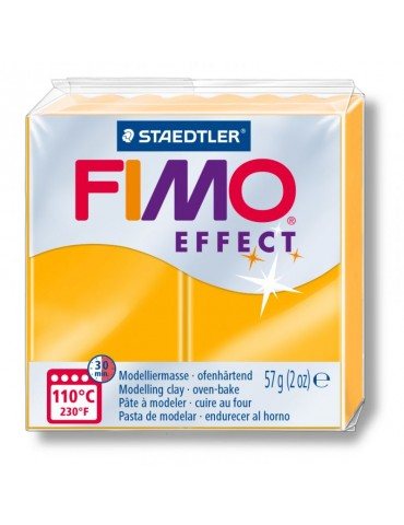 "Fimo Effet ""Néon Orange"""
