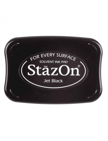 Encre Stazon jet Black