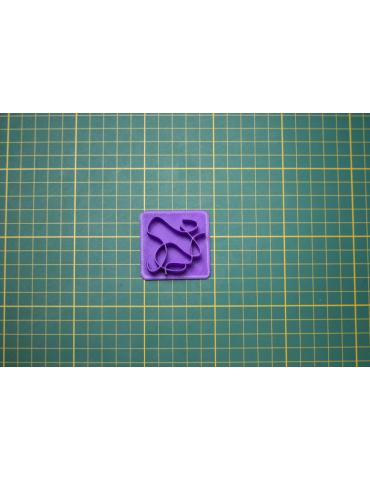 """Tampon 3D """"N°4"""""""