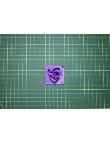 """Tampon 3D VISAGE """"N°3"""""""