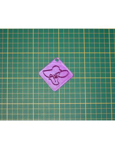 "Tampon 3D VISAGE ""LA DAME..."