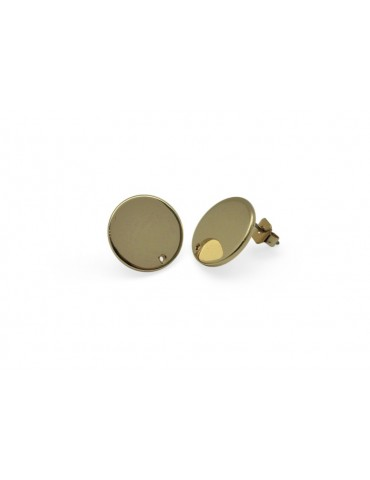BOUCLE D´OREILLE RONDE OR...