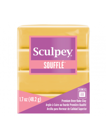 "Sculpey SOUFFLE ""ocre jaune""."