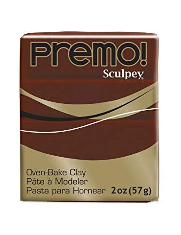 "Sculpey Premo  ""BURNT UMBER"""