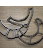 Emporte-pièce torque, plastron impression 3D