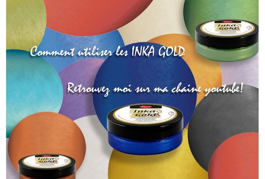 Comment utiliser les Inka Gold Patine?